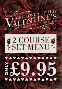 Valentine's Day Special @ Fairfield Arms