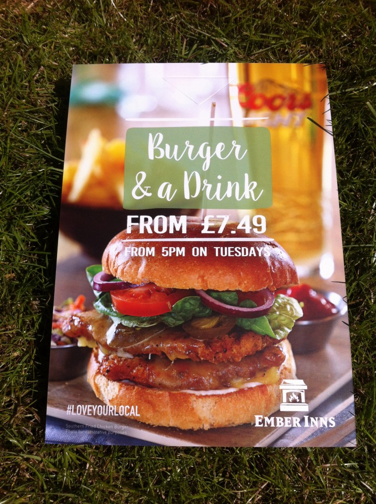 Burger & Drink Tuesday - from 5pm